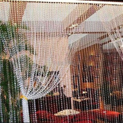 30m Garland Diamond Strand Acrylic Crystal Bead Curtain Wedding DIY Party Decor