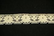Ribbon Bazaar Lace 271 Flat 2.5cm Natural 25 yards 100% Polyester