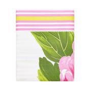 Designers Guild Charlottenberg Satin/Cotton Duvet Cover Set, pink, 140 x 200 cm