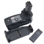 DSTE IR Remote Vertical Battery Grip Holder for Canon EOS 5D Mark IV 4 as BG-E20