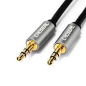 Stereo 3.5 mm jack to 3.5 mm jack Audio Cables 24K Gold Plated Audio Cables Male to Male