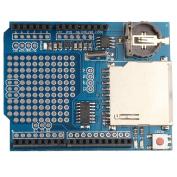 HALJIA Logging Recorder Shield Data Logger Module Data Logging shield for Arduino UNO SD Card