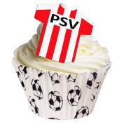 Pack of 12 - PSV Eindhoven Edible Decorations 201-154