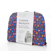 Ditsy Doodle floral Expandable Backpack/Rucksack holds 20kg max 6mth guarantee