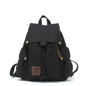 Canvas backpack/Retro art sports and leisure/ middle school students ' school bags man bag-B