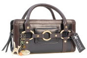 Catwalk Collection Leather Grab Bag - Milan