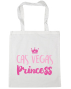 HippoWarehouse Cas vegas princess Tote Shopping Gym Beach Bag 42cm x38cm, 10 litres