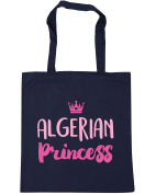 HippoWarehouse Algerian princess Tote Shopping Gym Beach Bag 42cm x38cm, 10 litres