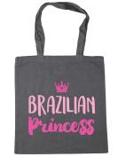 HippoWarehouse Brazilian princess Tote Shopping Gym Beach Bag 42cm x38cm, 10 litres