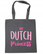 HippoWarehouse Dutch princess Tote Shopping Gym Beach Bag 42cm x38cm, 10 litres