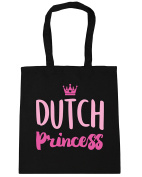 HippoWarehouse Dutch princess Tote Shopping Gym Beach Bag 42cm x38cm, 10 litres