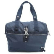 George Gina & Lucy Nylon Roots Window Seat Tote navy