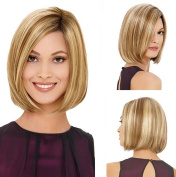 Shoulder Length Women Bob Wig Short Straight Women's Lola Wig