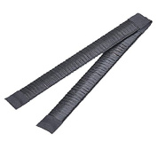 TOPBeauty 2Pcs/Set Women Hair Bun Maker French Twist Hair Fold Wrap Snap - Black