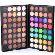 Eyeshadow ,Saingace Pro 80 Colours Cosmetic Matte Eyeshadow Cream Makeup Palette Shimmer Set Great for Professional Salon Wedding Party and Home Use