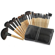 RY@ 32pcs Makeup Brushes Set Goat Hair Professional / Portable Wood Face / Eye / Lip