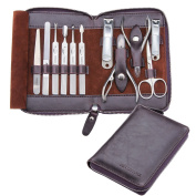 Manicure Set 11- in-1 ,Gift Box ,Heavy Duty, Stainless Steel, Great Christmas Birthday Gift ,FAMILIFE® L01