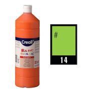 Creall Havo01814 1000 ml 14 Light Green Havo Basic Colour Poster Paint Bottle
