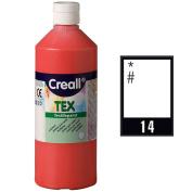 Creall Havo24034 250 ml 14 White Havo Textile Paint Bottle