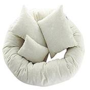 Veroda 4Pcs Newborn Baby Girls Boys Infant Cotton Pillow Photography Photo Prop