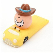 RuiChy 1pcs Cartoon Door Stopper Children Safety Door Jammer Wedge, Yellow
