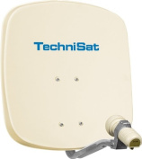 Technisat Digidish 45 Satellite Dish 45cm with Mounting and Single LNB - Beige