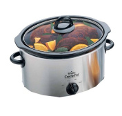 Crock Pot 37401BC Slow Cooker Brushed Chrome 3.5L
