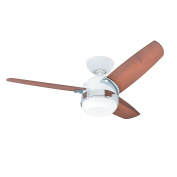 Hunter Fan Nova Ceiling Fan with Light, White, 47 W, 107 cm