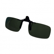 QHGstore Eyewear Polarised Clip On Flip Up Driving Sunglasses