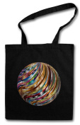 DISCO BALL HIPSTER BAG - Retro Light Oldies Music Musik Nerd Techno Indie Electro Wave New Hipster Club Clubbing Rave Cyber Dance Mirror Ball Starlight Star 70s 80s 90s