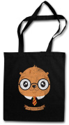 HARRY OTTER HIPSTER BAG - Fun Potter Wizard Animal Wildlife Nature Outback Forest Woods Canada Fish Fisch River Fishing Outdoor Sport