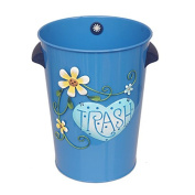 The garbage in the household cartoon drawing creative American style creative large litter bins living room kitchen,Royalblue