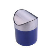 Stainless Steel Trash Cans Shook The Head Sanitation Living Room Home,Blue