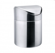 Stainless Steel Trash Cans Shook The Head Sanitation Living Room Home,Silver