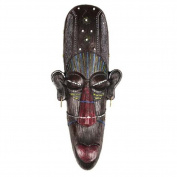 Resin African Mask Wall Hanging Decor Pendant Wall Art for Home/Office/Bar/Store/Pub, B