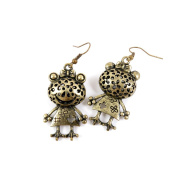 30 Pairs Fashion Jewellery Making Charms Earrings Backs Findings Arts Crafts Hooks Bulk Lots Wholesale Supplier R8MK1 Hollow Frog Princess