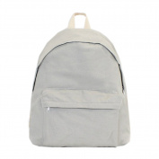 Artone Casual Canvas Backpack School Daypack Fit 36cm Laptop Grey