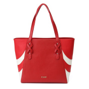 Kadell Women Leather Handbags Tote Purse Fashion Shoulder Bags for ladies Business Red