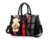 XibeiTrade Women Multicolor Top Handle Crossbody Shoulder Handbag