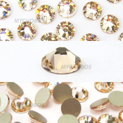 144 pcs Silk (391) 2058 Xilion / NEW 2088 Xirius 20ss Flat backs Rhinestones 5mm ss20