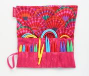 Denise2Go Interchangeable Knitting Needles, Sharp Short Tips Complete (US5-15)