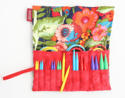 Denise2Go Interchangeable Knitting Needles, Sharp Short Tips Complete (US5-15)