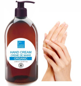 Rich Protective Organic Hand Cream 250 ml, made in France