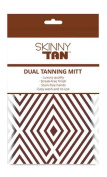 SKINNY TAN Dual Tanning Applicator Mitt - New Packaging