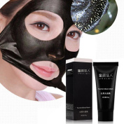 Blackhead Remover, Tonsee Black Mud Deep Cleansing Purifying Peel Off Facail Face Mask Remove Blackhead