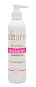 Cleure Gentle Hypoallergenic Face & Body Wash - Paraben Free, Fragrance Free