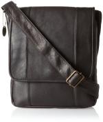 David King & Co. Vertical Mans Bag, Cafe, One Size