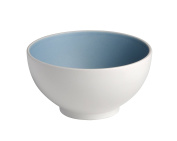 Bitossi Home BER1510 Set 6 bowls, Sorbetto Collection, Blueberry