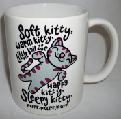 Inspired By The Big Bang Theory Soft Kitty Ceramic Mug