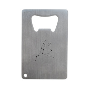 Ursa Major Bottle Opener, Stainless Steel Credit Card Size, Bottle Opener For Your Wallet, Credit Card Size Bottle Opener